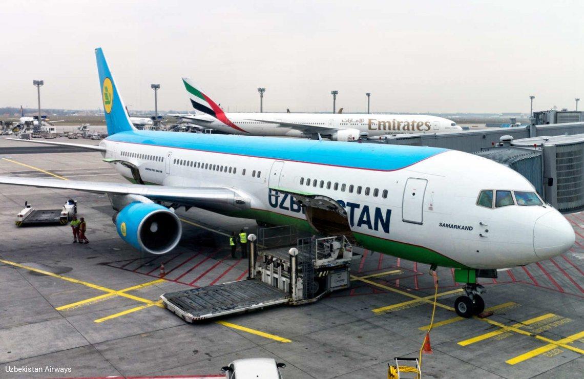 фото самолеты узбекистана периоды